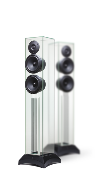 Enceintes En Verre Page Selection Waterfall Audio